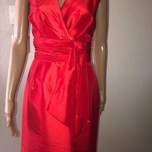 Beautiful women's red dress size 12